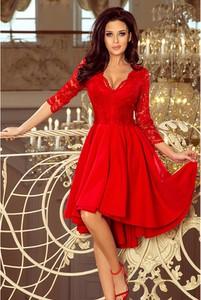 Sukienka NUMOCO midi asymetryczna