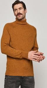 Żółty sweter Medicine w stylu casual