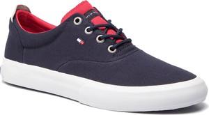 54883606d0ecc Tenisówki TOMMY HILFIGER - Core Thick Textile Sneaker FM0FM02160 Midnight  403