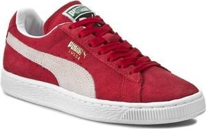 Puma Półbuty Suede Classic + 352634 05 Czerwony