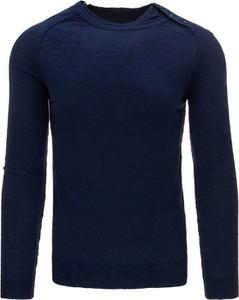 Sweter dstreet bez wzorów