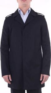 Czarny płaszcz męski SAINT LAURENT