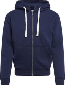 Niebieska bluza Q/s Designed By - S.oliver z dresówki