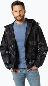 Granatowa kurtka Boss w militarnym stylu
