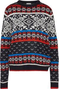 Sweter Noisy May w stylu skandynawskim z dzianiny