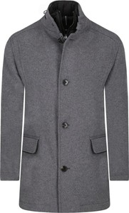 Płaszcz męski Joop! Collection w stylu casual z kaszmiru