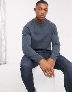 Niebieski sweter Jack & Jones z tkaniny