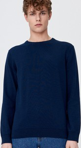 Granatowy sweter Sinsay