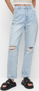 Niebieskie jeansy Reserved w stylu casual