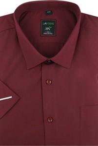 Koszula Laviino z tkaniny z klasycznym kołnierzykiem z krótkim rękawem