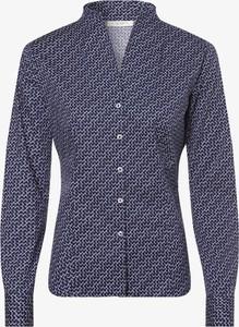 Niebieska koszula Eterna z długim rękawem w stylu casual