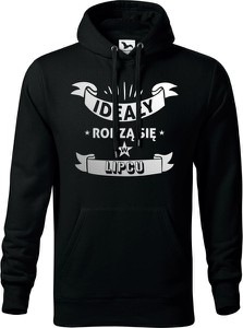 Czarna bluza TopKoszulki.pl z bawełny