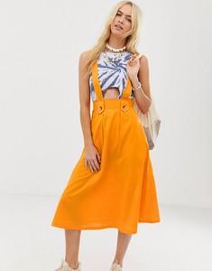 Pomarańczowa spódnica Asos Design