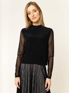 Bluzka Calvin Klein w stylu glamour z długim rękawem