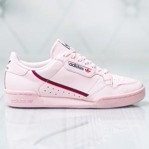 30e6afa927c41f Różowe buty sportowe Adidas sznurowane w sportowym stylu