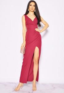 Czerwona sukienka Sukienki M&M na ramiączkach