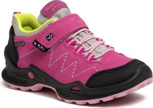 Różowe buty sportowe dziecięce Sergio Bardi Young