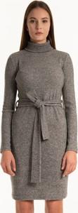 Sukienka Gate z długim rękawem mini w stylu casual