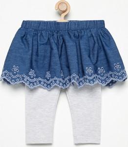 Niebieska spódniczka dziewczęca Reserved dla dziewczynek