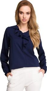 Bluzka Style z żabotem