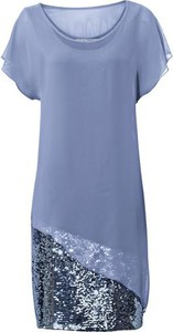 Niebieska sukienka ashley brooke by heine