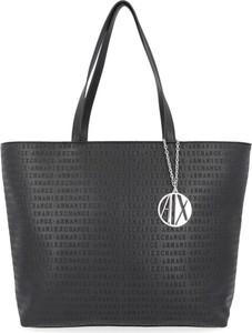 Czarna torebka Armani Jeans duża