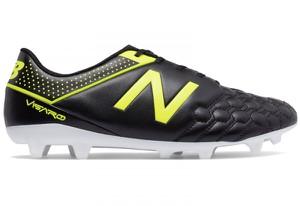 Czarne buty sportowe New Balance w sportowym stylu ze skóry