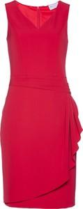 Sukienka bonprix bpc selection premium bez rękawów ołówkowa midi