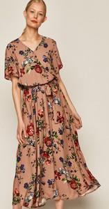 Sukienka Medicine z dekoltem w kształcie litery v z tkaniny maxi