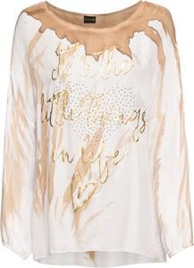 T-shirt bonprix BODYFLIRT w stylu glamour z długim rękawem
