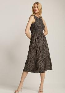Sukienka Renee midi bez rękawów trapezowa