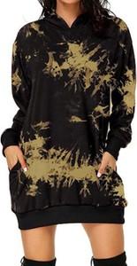 Sukienka Cikelly z długim rękawem w stylu casual