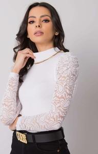 Bluzka Promese z długim rękawem w stylu casual z okrągłym dekoltem