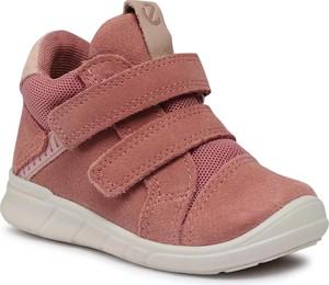 Buty dziecięce zimowe Ecco na rzepy
