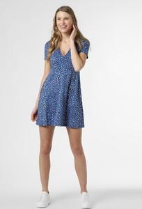 Niebieska sukienka Tommy Jeans w stylu casual