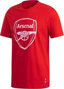 T-shirt Adidas z krótkim rękawem w młodzieżowym stylu