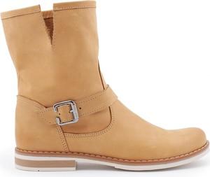 Brązowe botki Zapato
