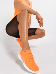 Pomarańczowe buty sportowe Renee