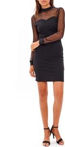 Czarna sukienka Gate mini ołówkowa