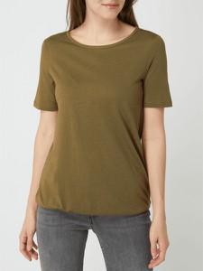 Zielona bluzka Montego z bawełny w stylu casual
