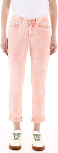 Różowe jeansy Stella McCartney z bawełny
