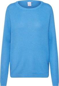 Niebieski sweter Ichi z bawełny