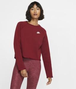 Czerwona bluza Nike z plaru