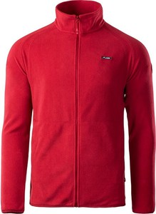 Czerwona bluza Elbrus w sportowym stylu z plaru