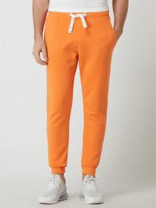 Pomarańczowe spodnie McNeal z bawełny
