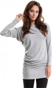 Tunika MOE z długim rękawem w stylu casual