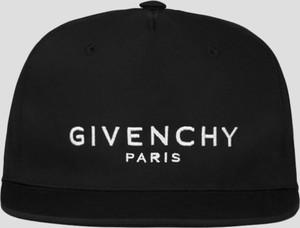 Czarna czapka Givenchy