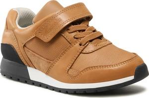 Buty sportowe dziecięce Clarks ze skóry sznurowane