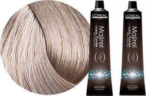 L'Oreal Paris Loreal Majirel Cool Cover | Zestaw: trwała farba do włosów o chłodnych odcieniach - kolor 9.11 bardzo jasny blond popielaty głęboki 2x50ml - Wysyłka w 24H!