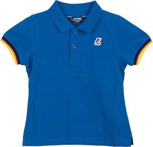 Niebieska koszulka dziecięca K-Way